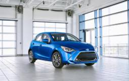 2020 Toyota Yaris hatchback launched in US