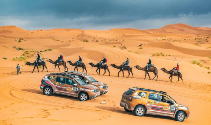 Armed forces charity complete 2000 km in Carta Rally with Dacia Duster