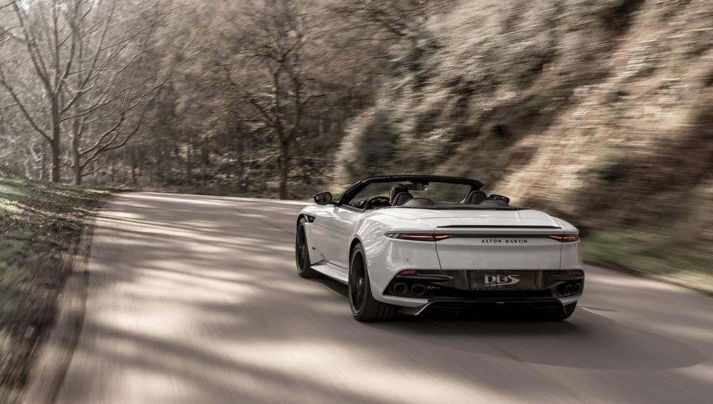 Aston Martin launched the all-new DBS Superleggera Volante