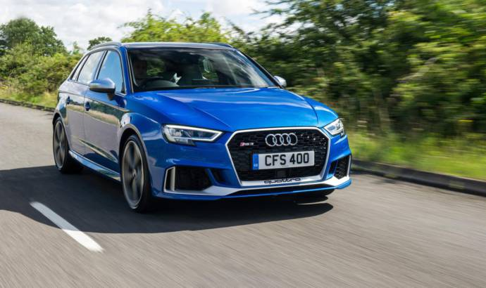 Audi TTRS and RS3 Sport Editions available in the UK