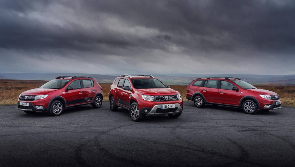 Dacia Techroad range introduced in UK