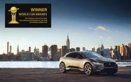 Jaguar I-Pace is 2019 World Car of the Year