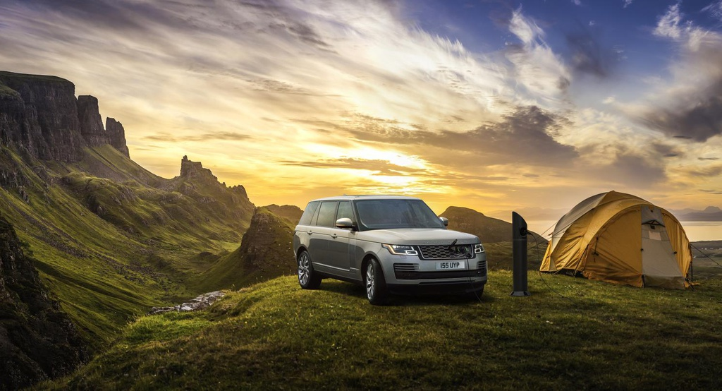 Land Rover installs the most remote charging point