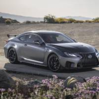 Lexus RC F Track Edition unveiled