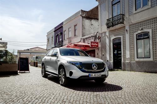 Mercedes-Benz EQC gains Edition 1886