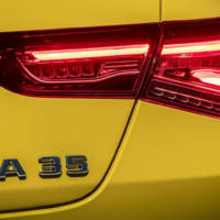 Mercedes-Benz published the first teaser picture with AMG CLA 35