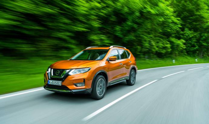 Nissan X-Trail gets new gasoline and diesel engines