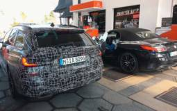 The upcoming 2020 BMW 3 Series Touring spied around Nurburgring
