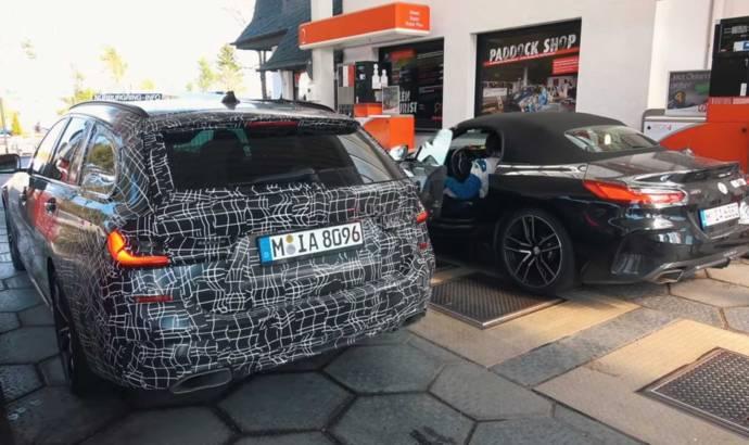 The upcoming 2020 BMW 3 Series Touring spied around Nurburgring