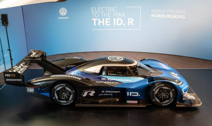 Volkswagen ID R prototype gets updated