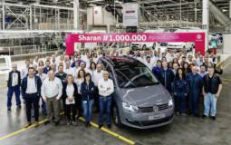 Volkswagen Sharan reaches one million units produced