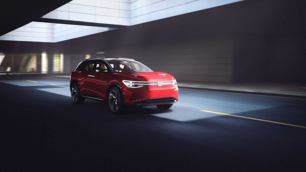 Volkswagen unveiled the ID Roomzz electric SUV Concept