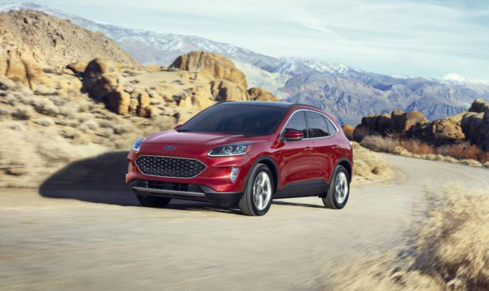 2020 Ford Escape launched in US