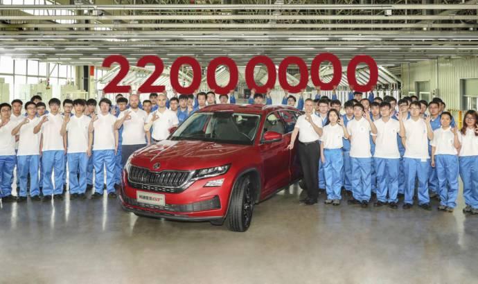 Skoda celebrates its 22 millionth vehicle