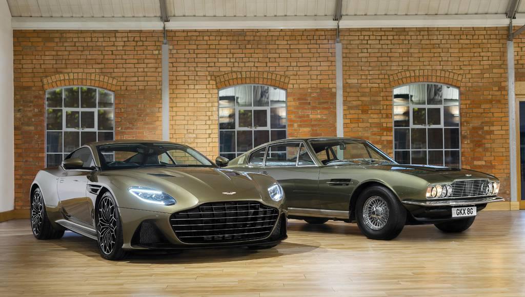 Aston Martin launches On Her Majesty's Secret Service DBS Superleggera