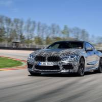 BMW M8 Coupe and M8 Cabrio - new official pictures with some camouflaged prototypes
