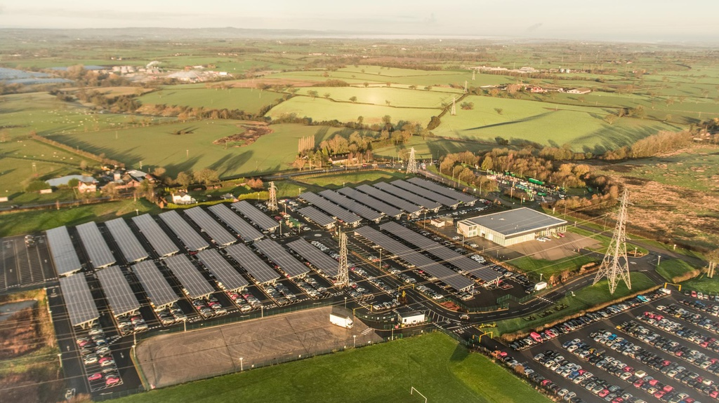 Bentley announced the largest solar panel installation in UK