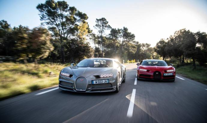 Bugatti uses Paul Ricard circuit for Chiron and Chiron Sport