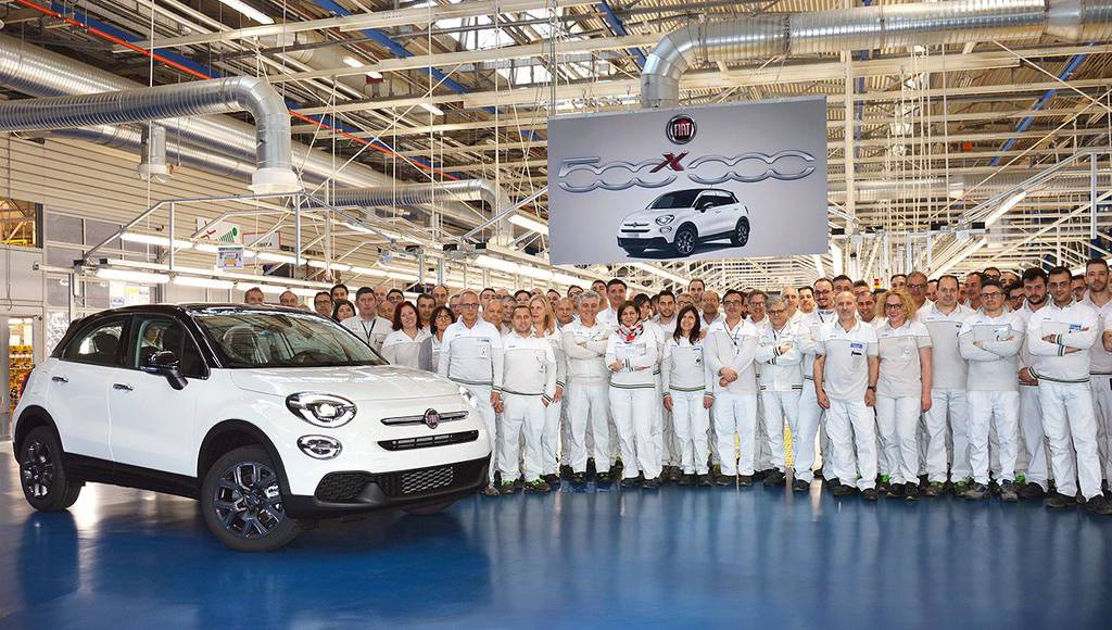 Fiat 500X reaches 500.000 units produced