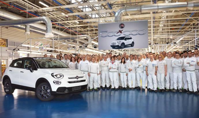 Fiat 500X reaches 500.000 units produced