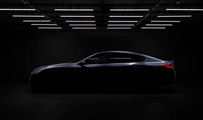 First teaser picture with the upcoming BMW 8 Series Gran Coupe