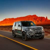 Future Land Rover Defender reaches milestone testing