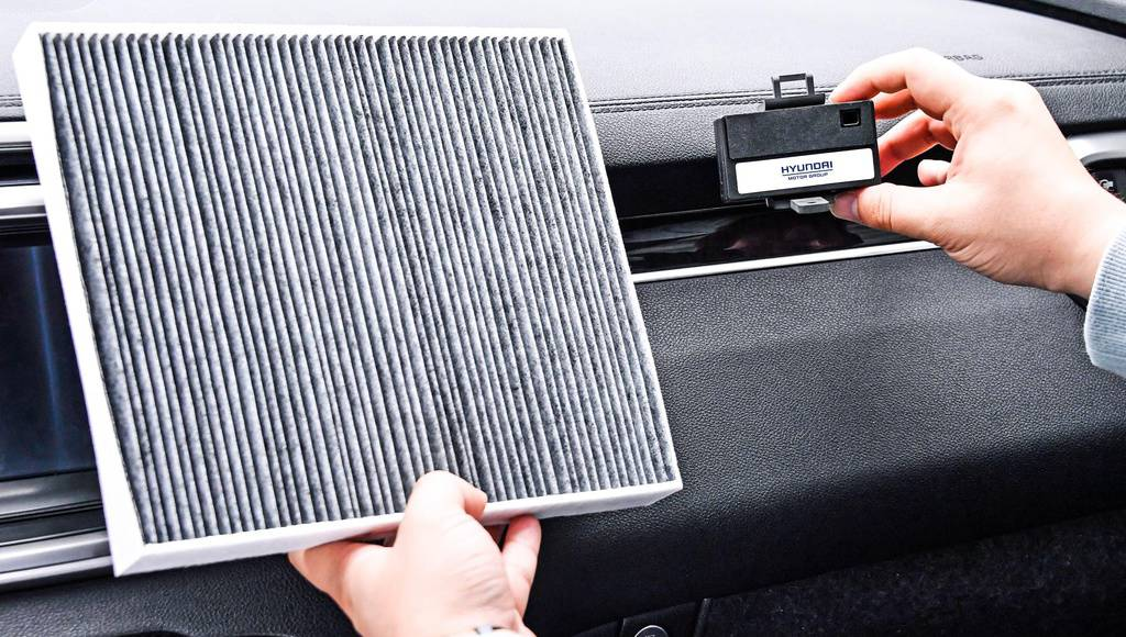 Hyundai introduces innovative air filtering solution