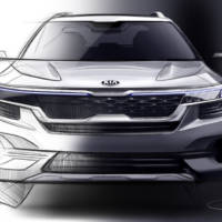 Kia revelead the first sketches of a new small SUV