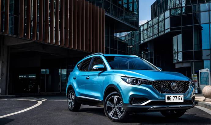MG launches ZS electric car in UK