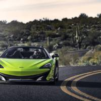 McLaren 600LT Spider reaches US market