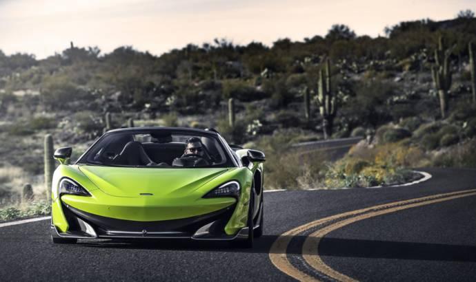 McLaren 600LT Spider reaches US market