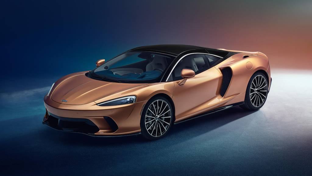 New McLaren GT supercar unveiled