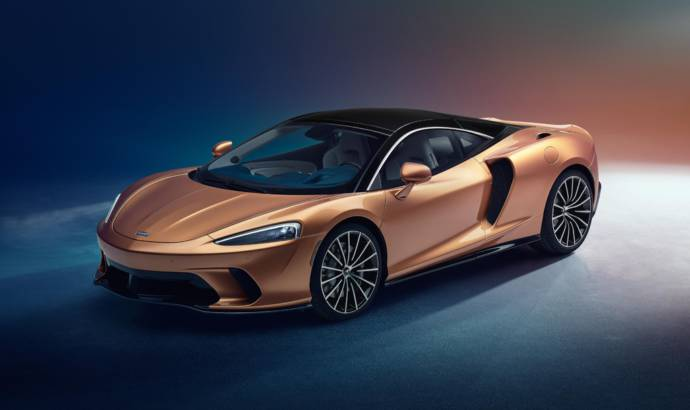 New McLaren GT supercar unveiled