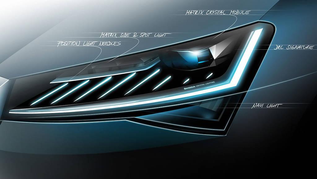 New teaser video for upcoming Skoda Superb facelift