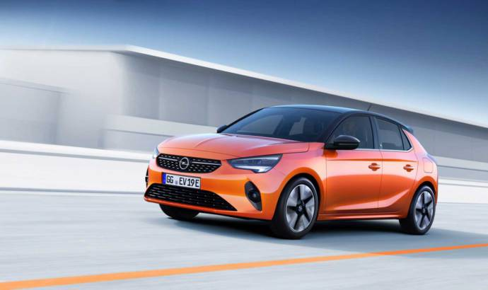 Opel unveiled the all-electric Corsa-e