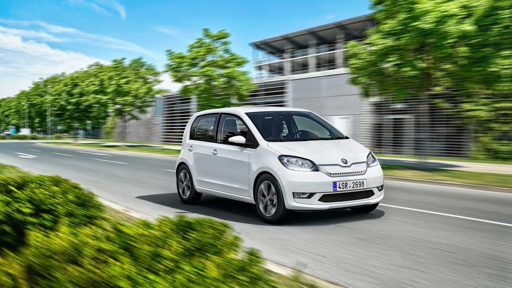 Skoda Citigo-e iV is a mean little electric car