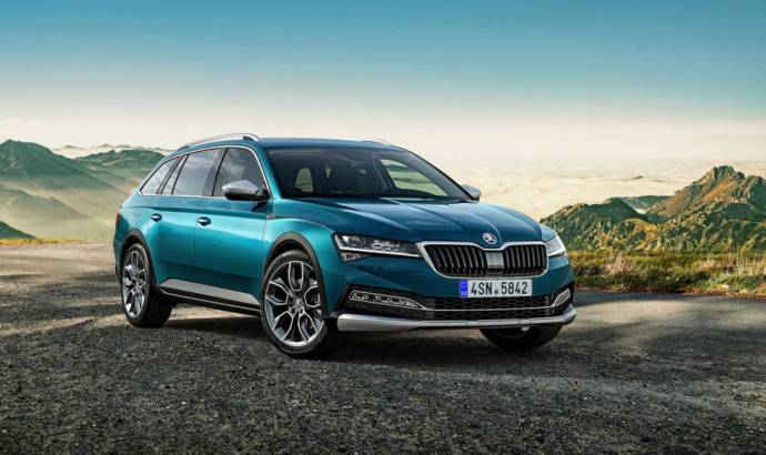 Skoda unveiled the all-new Superb Scout