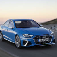 Audi unveiled the revised 2020 A4. It has a new face and hybrid power