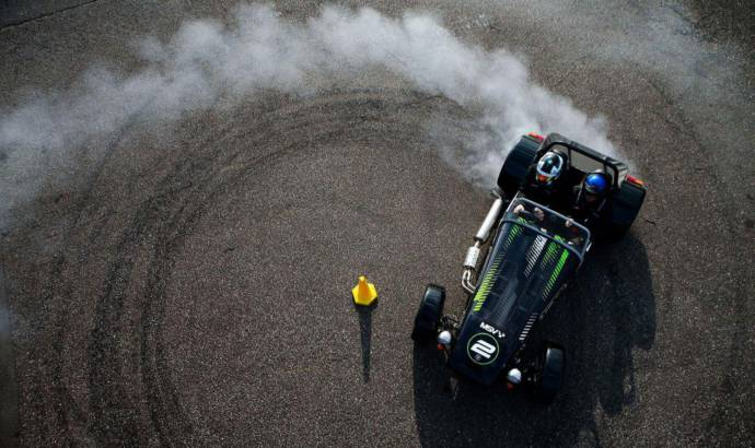 Caterham Drift Taxi experience available in UK