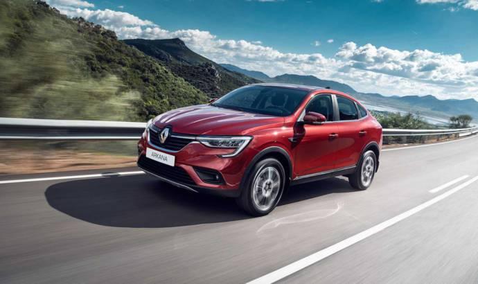 Renault Arkana has a production version