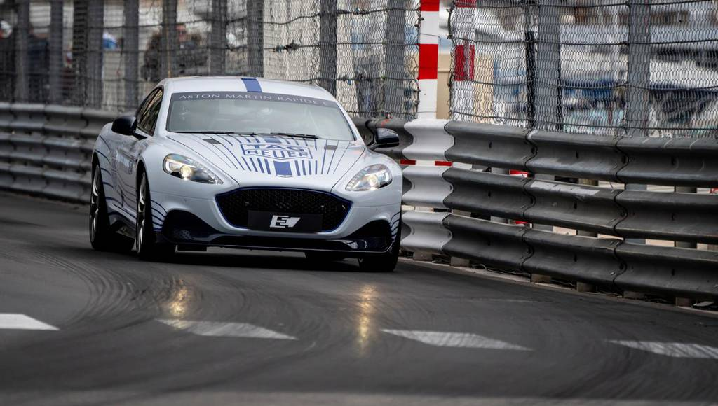 Aston Martin Rapide E to make UK debut