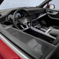 Audi unveiled the 2020 Q7 facelift