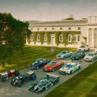 Bentley celebrates 100 years at Goodwood Festival of Speed