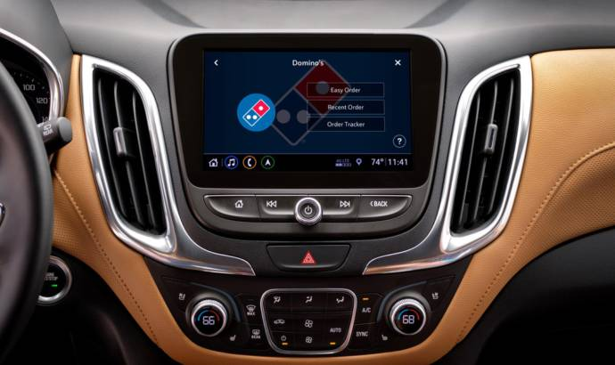 Chevrolet owners can order Domino pizza from their cars