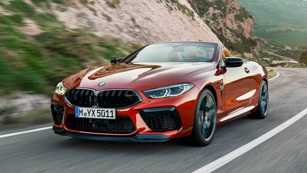 First official pictures and details with the all-new BMW M8 Coupe and Convertible