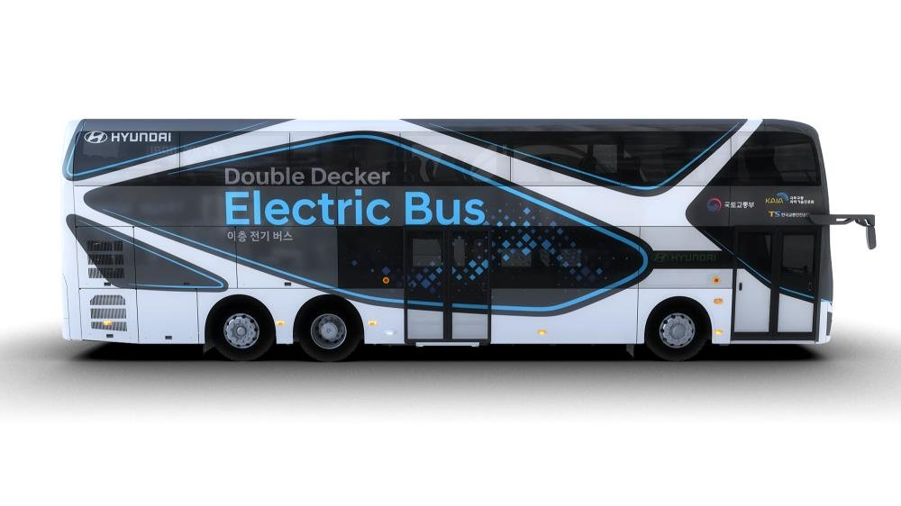 Hyundai launches electric double-decker bus