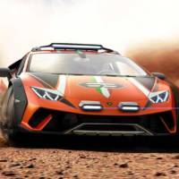 Lamborghini Huracan Sterrato is a one-off off-road supercar concept