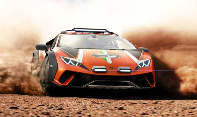 Lamborghini Huracan Sterrato is a one-off off-road supercar concept