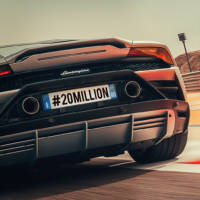 Lamborghini reached 20 million users on Instagram