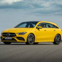 Mercedes-AMG CLA 35 Shooting Brake is here